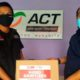Marketing ACT, Saiful Anam dan Ketua PWI Malang Raya, Ariful Huda