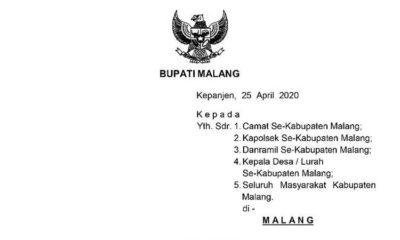 Pemudik Dilarang Masuk Kabupaten Malang, Bupati Terbitkan SE, Godok Teknis PSBB