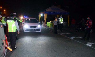 Penerapan Jam Malam Pertama PSBB di Sidoarjo, Sanksi Diberikan Per 3 Mei