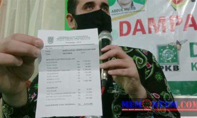 14 Bulan Gaji Walikota, 5 Bulan Gaji Ketua dan Anggota Dewan dari PKB Disumbangkan Warga Probolinggo Terdampak Covid 19