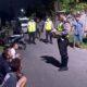 Bandel Perang Kembang Api, Polisi Amankan 22 Sepeda Motor di Jalan Talang Panji Situbondo