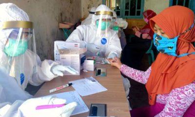 Dinas Kesehatan Kota Batu Rapid Test Massal di Desa Giripurno