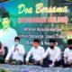 DOA BERSAMA - Plt Bupati Sidoarjo, Nur Ahmad Syaifuddin bersama Forkopimda Sidoarjo mengundang para kiai memimpin doa bersama untuk keselamatan Sidoarjo, Jatim serta bangsa dan negara di Pendopo Delta Wibawa, Jumat (15/05/2020) malam