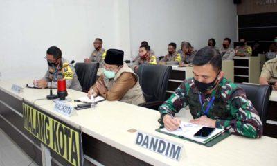 Pelaksanaan Vidcon di Mapolresta Malang Kota. (ist)