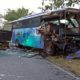 Truk Ikan Adu Moncong Lawan Bus Restu Mulya, 2 Tewas, 9 Klenger