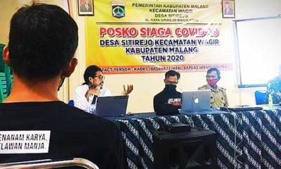 Acara Simulasi Kampung Tangguh Desa Sitirejo Wagir. (ist)