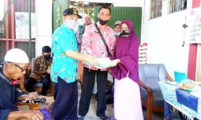 159 KPM Penerima Bantuan Perluasan BSP Covid-19 Desa Paowan Ambil Sembako di E-warung