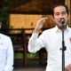 Presiden Joko Widodo didampingi Menteri Pariwisata dan Ekonomi Kreatif, Wisnutama saat di Wisata Solong. (ist)
