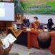 Kabid Bina Manfaat dan Kemitraan PU Pengairan Banyuwangi, Doni Arsilo Sofyan saat memberikan materi saat sosialisasi pembinaan untuk peningkatan SDM pengurus HIPPA dan GHIPPA. (ist)