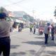 Pemotor Tak Pakai Masker di Kecamatan Dau Dihukum Bersih-Bersih, Hafalan Pancasila