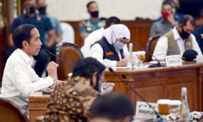 Presiden Target Gubernur Jatim Dua Minggu Selesaikan Covid-19, Termasuk Kota Malang