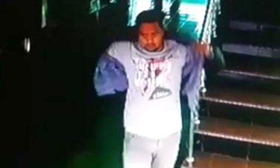 wajah laki-laki yang terlihat di CCTV. (repro)