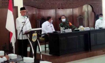 Bupati Salwa Arifin Sosialisasikan Perbup 202020