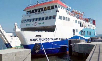 Bupati Situbondo Lepas Pelayaran Perdana KMP Munggiyango Hulalo