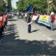 Buruh Jombang Demo di Depan Disnaker, Tuntut THR