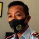 Kepala Rutan Kelas II B Trenggalek, Sjamsudi Wahjunto saat ditemui di ruang kerjanya. (ist)