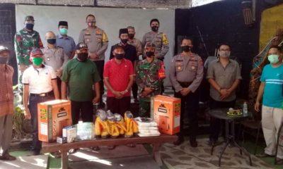 Kapolres Situbondo AKBP Sugandi SIK M Hum saat berkunjung di Cafe R2 Lingkungan Plaosa, Kelurahan Patokan, Kecamatan Situbondo Kota. (her/im)
