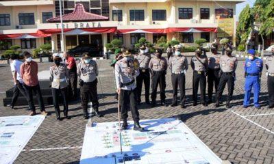 Kapolres Situbondo Cek Kesiapan Pengamanan Kunjungan Menteri Kelautan dan Perikanan RI