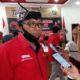 Ketua DPC PDI Perjuangan Banyuwangi, I Made Cahyana Negara usai meeting melalui seluran zoom bersama Ketua DPP PDI Perjuangan, Megawati Soekarno Putri. (ras)