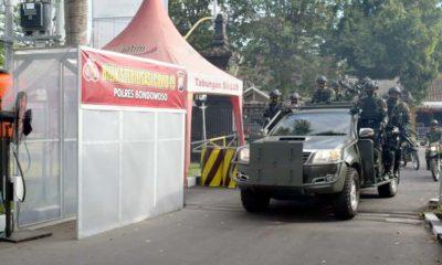 Mengejutkan, Puluhan Anggota TNI Yonif 514 Raider Serbu Mapolres Bondowoso