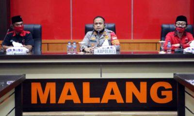 PDIP Resmi Adukan Insiden Pembakaran Bendera ke Polres Malang, Kapolres Minta Jaga Kondusifitas