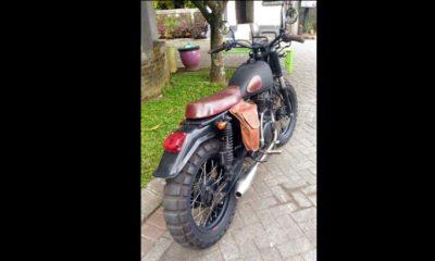Motor milik Wahyu Feri yang dibawa kabur oleh pelaku. (ist)