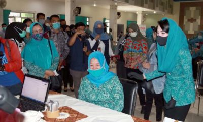 Rapid Test Massal Bukti Berjalannya Pentahelix di Kota Malang