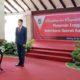 Pelantikan Sekertaris Daerah (Sekda) Dr Ir Wahyu Hidayat, yang dilakukan Bupati Kabupaten Malang Sanusi, di Pendopo Kabupaten Malang