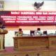 Pembacaan penyampaian pandangan umum paripurna DPRD Bangkalan