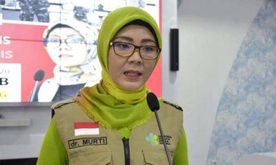 Jubir Gugus Tugas Percepatan Penanganan Covid-19 Kabupaten Trenggalek dr Murti Rukiyandari. (ist)