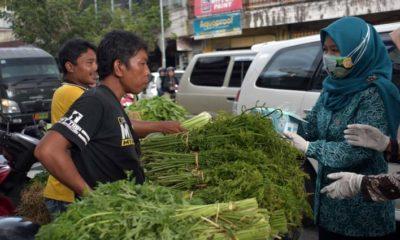 1.000 Masker untuk Warga Pasar Tanjung