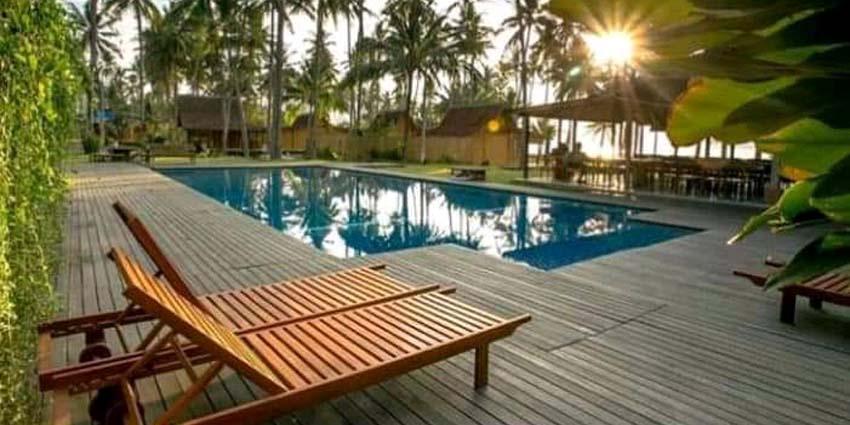 Balita Tewas  Di Kolam Renang Villa Solong
