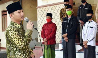 Bupati Nur Arifin Salurkan Bantuan Dana Hibah Ke Ponpes Al Falah Kedunglurah