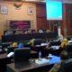 RAPAT PARIPURNA: Bupati Jombang Hj.Mundjidah hadir di Rapat Paripurna DPRD Jombang dengan agenda penyampaikan nota penjelasan atas Rancangan Peraturan Daerah tentang Perubahan APBD