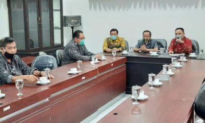 Kunjungan kerja anggota DPRD Kabupaten Sragen ke DPRD Kabupaten Jombang. (memo x/wis)