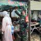 Petugas saat Sidak di Pasar Tradisional Wonoasih Probolinggo