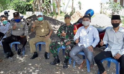 Muspika Kecamatan Pakem ikut menyaksikan rapid test (sam)