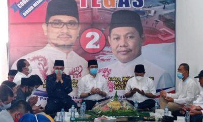 pasanganKOMPAK: Kompak Tegas dengan Team Solid bangun Posko solid Menangkan Pilwali Kota Pasuran calon Tegas (Teno-Hasyim)