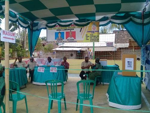 Prosesi Pemilihan Ketua sublok Desa Lamongan Kecamatan Arjasa Kabupaten Situbondo. (her/im)