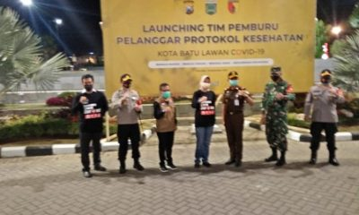 Walikota Batu Dewanti Rumpoko bersama Forpimda Malang Raya.