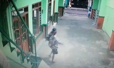 CCTV: Pelaku sempat terekam CCTV saat melakukan pencurian . (ist)