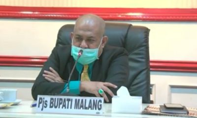 Pejabat Sementara (Pjs) Bupati Malang, Drs Sjaichul Ghulam MM.