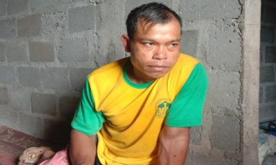 Salah satu tokoh masyarakat Desa Masaran Kecamatan Bendungan.