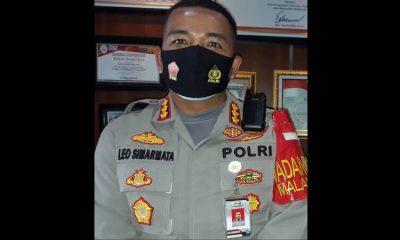 Kapolresta Malang Kota Kombes Pol Dr Leonardus Harapantua Simarmata Permatas Sos SIK MH. (gie)