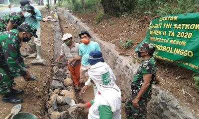 Pembuatan selokan tepatnya berada di Dusun Krajan RT.07/RW.01 Desa Sindet Anyar Kecamatan Besuk, Kabupaten Probolinggo.
