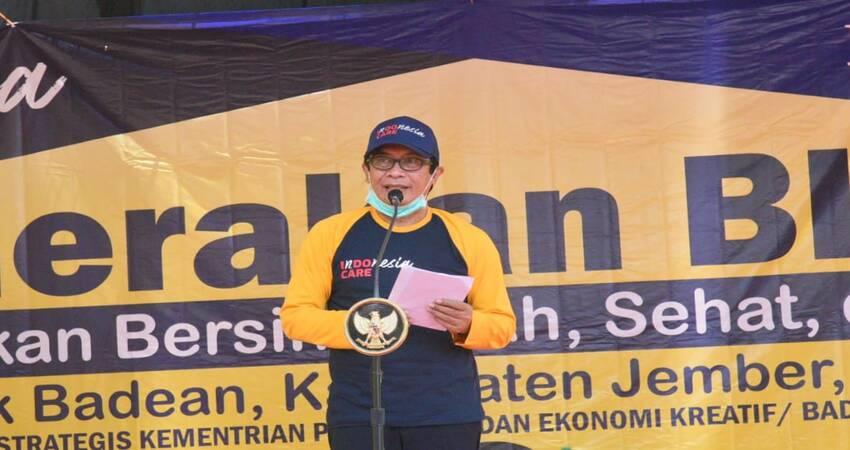 Plt Bupati Jember, Drs. KH. A. Muqit Arief.