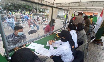 Ops Yustisi di Taman Krida Budaya Kota Malang. (ist)