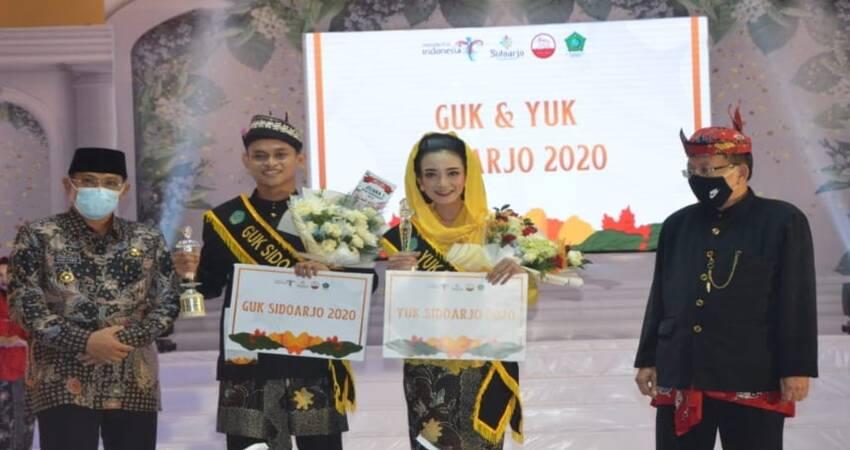 Pemilihan Duta Wisata Guk & Yuk Sidoarjo 2020 digelar di salah satu hotel di Sidoarjo.