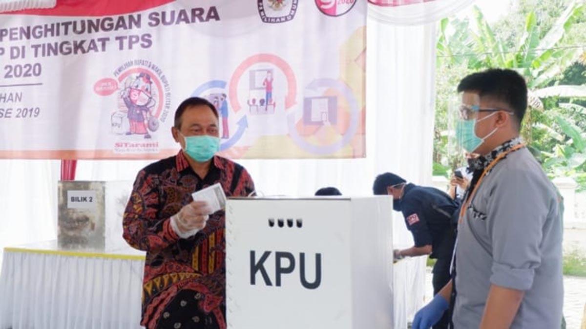 Pjs Bupati Blitar Ikuti Simulasi Pilkada 2020