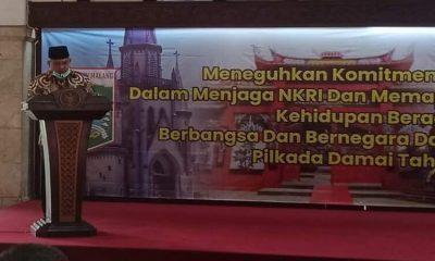 Pjs Bupati Malang, Sjaichul Ghulam di acara dialog bersama FKUB.